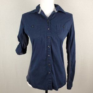 Converse Button Up Long and Rolled Sleeve Top